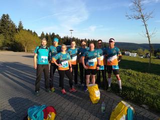 Marathon und Halbmarathon auf dem Rennsteig
