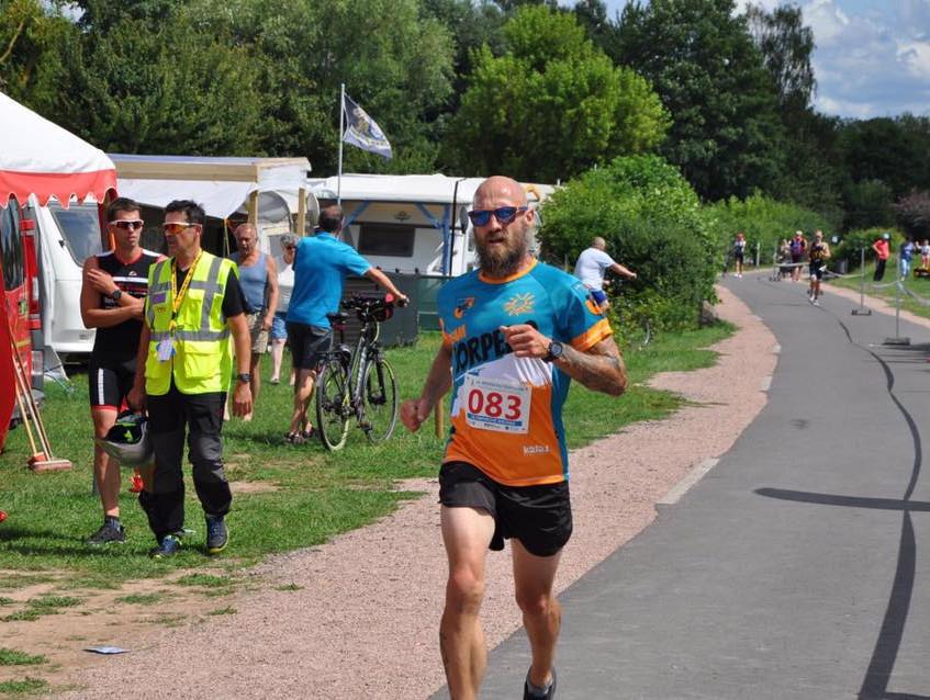 Daniel beim Lauf