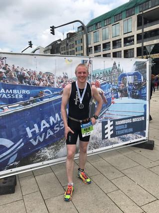 Bei ITU World Triathlon in Hamburg und dem Spendenlauf in Zeulenroda