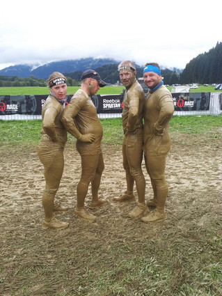 Spartan Race Trifecta Wochenende Oberndorf / Tirol 2017