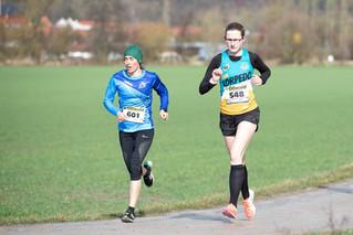 Sieg für Katja Voigtmann beim Winterlauf in Creuzburg
