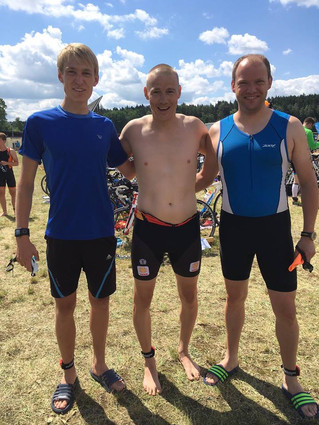 30. Erfurter Triathlon mit 3 Torpedos am Start