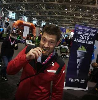 Persönliche Bestleistung beim Frankfurt Marathon für Neuzugang Christian