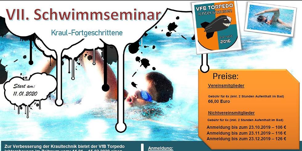 7. Schwimmseminar - Kraulfortgeschrittene