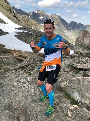 Christian Garz bei Silvrettarun 3000