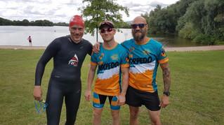 Staffel- und Einzelerfolg bei Triathlon in Immelborn