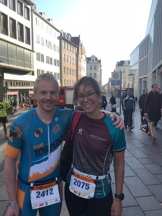Stefan beim Lübecker Halbmarathon