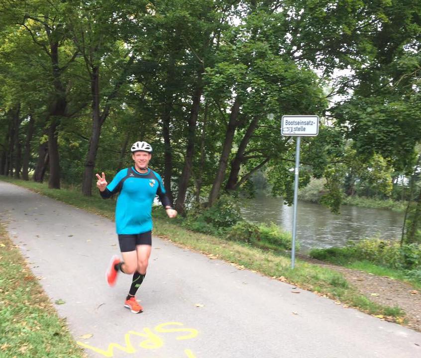 Thorsten H. nach 18 Km