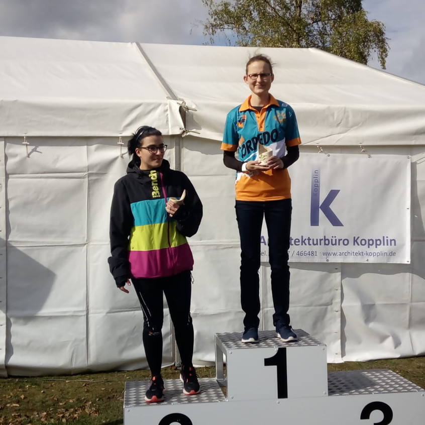 Siegerehrung Katja
