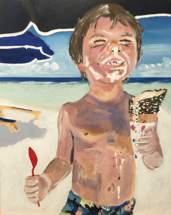 Ice Cream and Sand