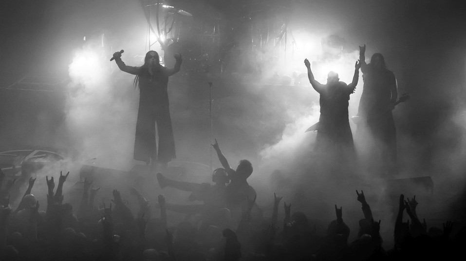 Dimmu Borgir band at O2 Forum Kentish Town, London, UK, 22 January 2020