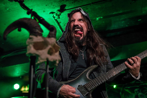 Marcos Rodrigues, Rage, concert at the Underworld, Camden, London, UK, 8 February 2020