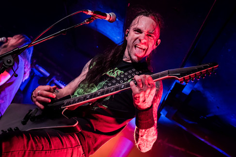 Joff Bailey, Savage Messiah, concert at The Underworld, Camden, London, UK, 8 February 202