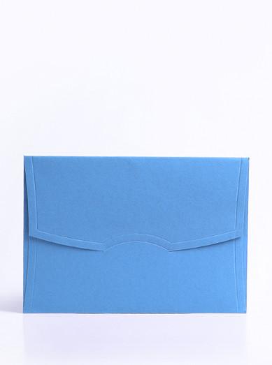 Davetiye Zarfı Mavi
