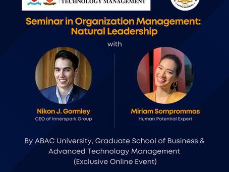 Seminar in Organization Management: Natural Leadership