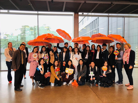 Educational Trips Add Perspective for AU-MBA Students