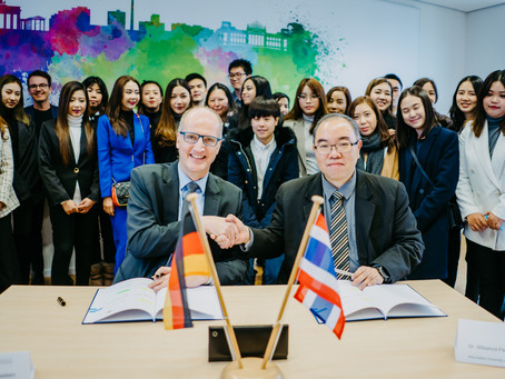 Optional double degree studies in Thailand and Germany