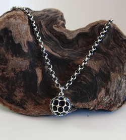 """""""Ball with Chambers"""" Pendant"""
