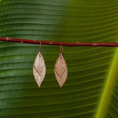 """""""Copper Tears"""" Earrings"""