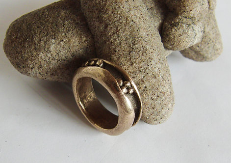 """Nuggets in the Groove"" Ring"