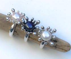 Splash Crown Rings