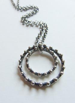 Double Circles Pendant