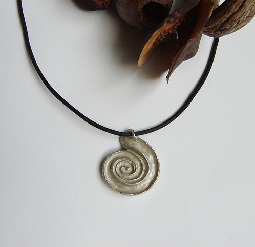 Reversible Ammonite Pendant