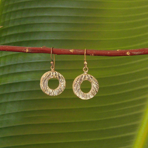 """""""Ocean Floor"""" Earrings"""