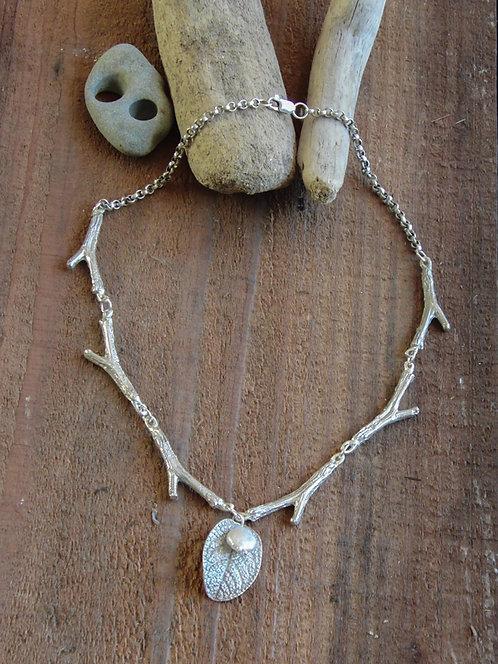 Sage Branch Necklace