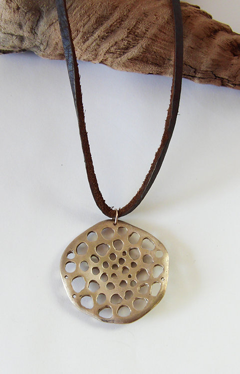 Perforated Disc Pendant