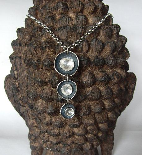 """""""Triple Petal"""" Necklace"""