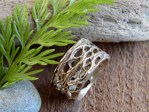 Bronze Prickly Pear Ring