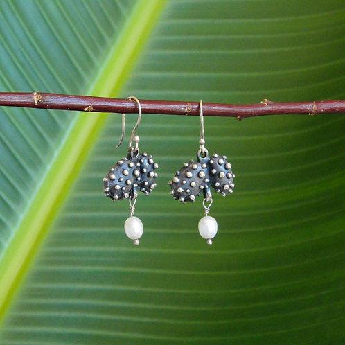 Black Grapes Earrings