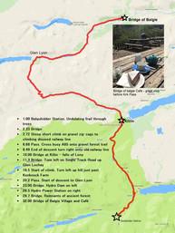 Day 2 Balquihidder to Bridge of Balgie