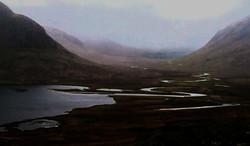 Loch Ossian trail