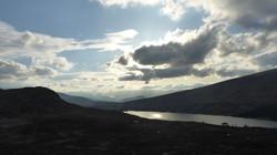 Loch Ossian descent