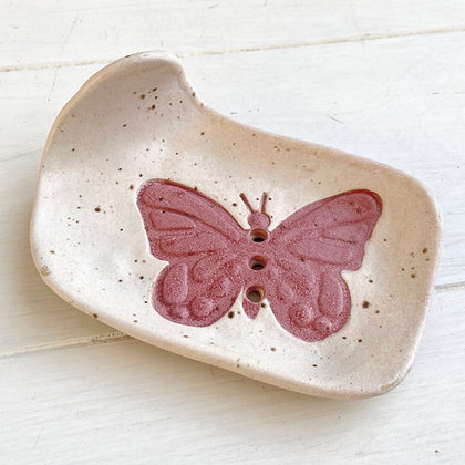 Soap Dish- Butterfly