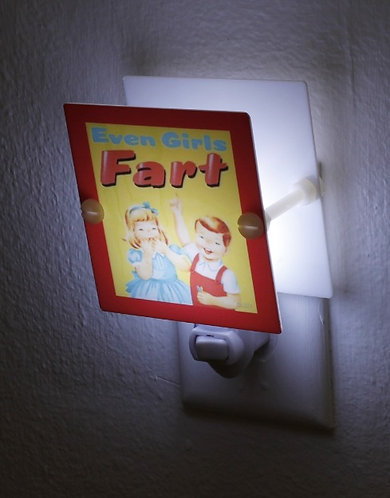 Little Golden Book Girls Fart Night Light Hand Made With LED & Free Shipping