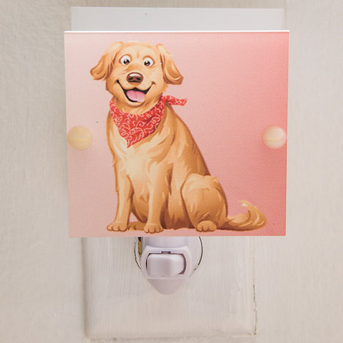 Labrador Puppy Caricature Night Light Hand Made Free Shipping