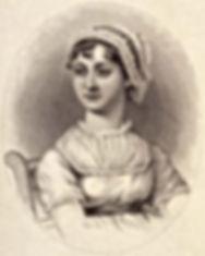 J. Austen. Stich von 1869, nach einer Skizze von Cassandra Austen, National Portrait Gallery, London