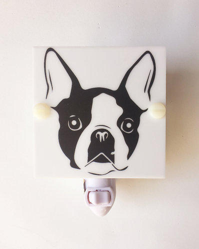 Boston Terrier Decorative LED Night Light