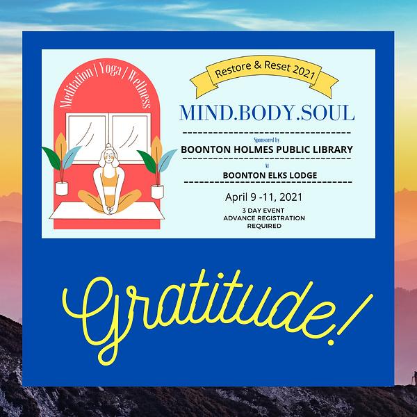 MInd.Body.Soul Event! 2021