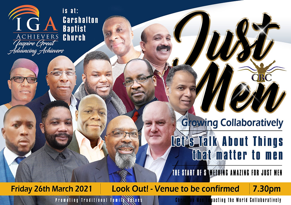 Men Together & IGA Achievers touching the community