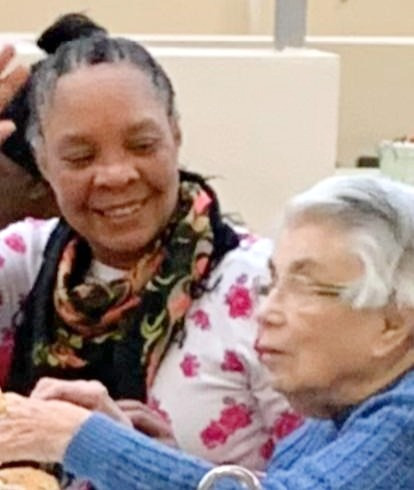 Love in Action team with elderly