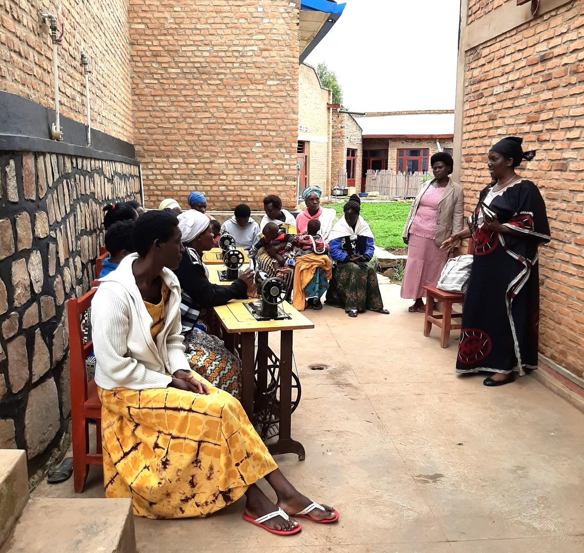 Supporting Rwanda Women's Business Community
