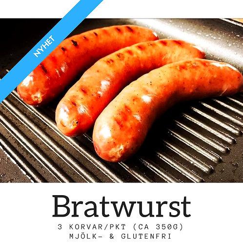 Alspånsrökt bratwurst (3-pack)