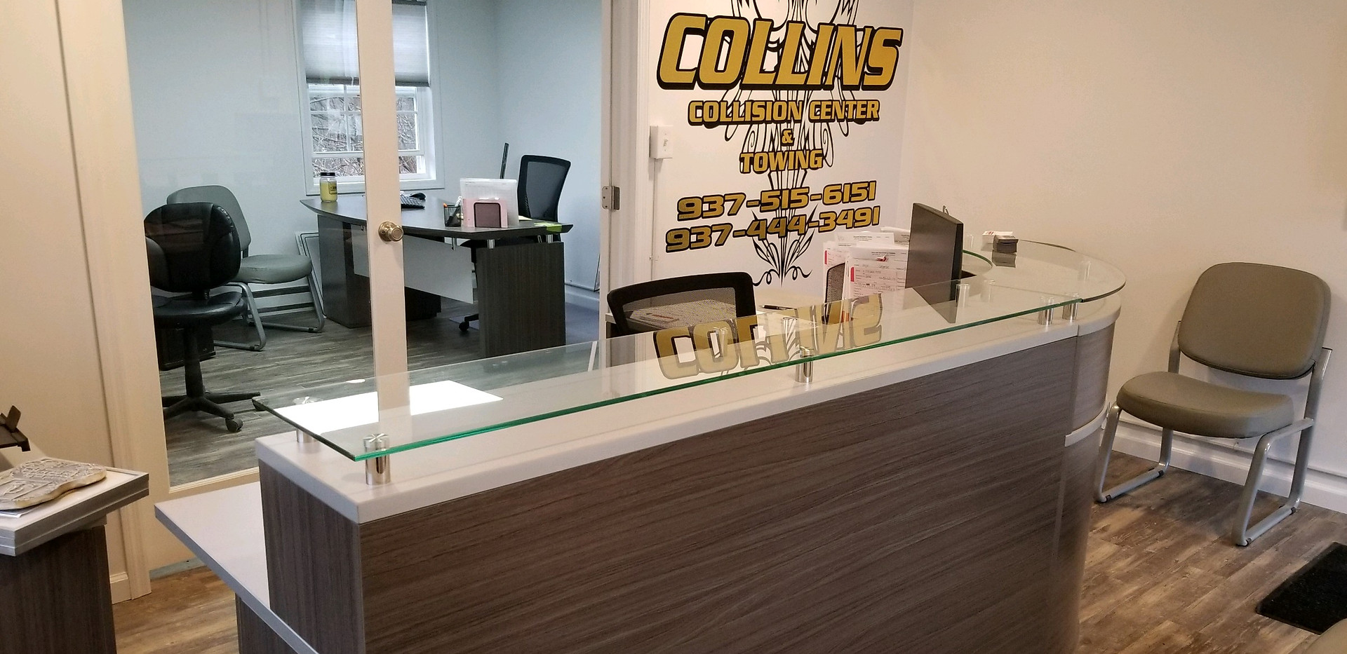 Collins Body Shop Office
