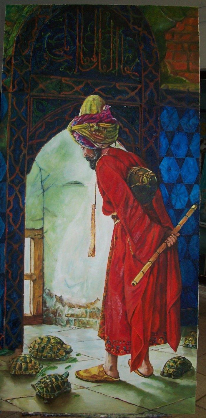 Ressam Seher Ulug