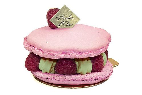 Macaron pistache framboise ingrédients sans gluten