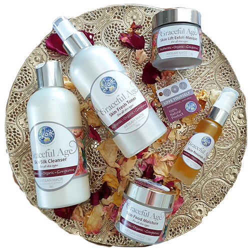 Graceful Age Complete Collection (BEST VALUE with 250ml Cleanser & Toner)